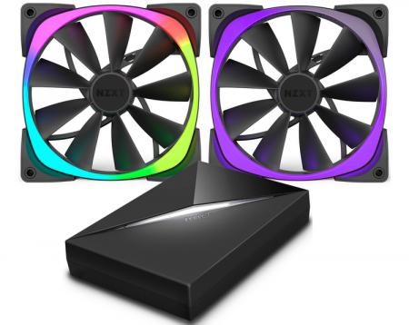 NZXT анонсировала новые вентиляторы с подсветкой Aer RGB