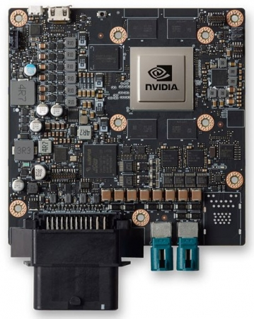 NVIDIA анонсировала компактную версию платформы Drive PX 2