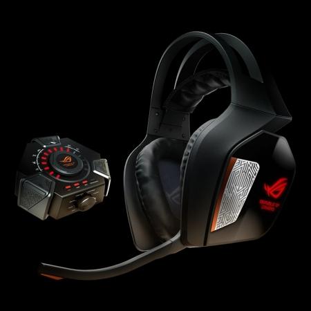 ASUS ROG Centurion: игровая гарнитура с многоканальным звучанием 7.1