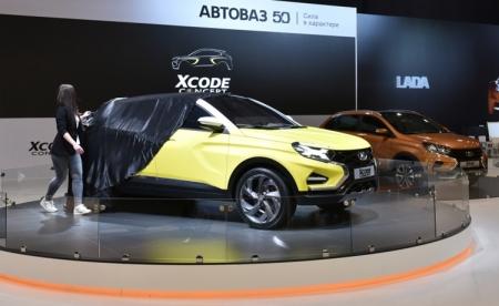 «АвтоВАЗ» показал концепт LADA XCODE с поддержкой смарт-платформы Connect