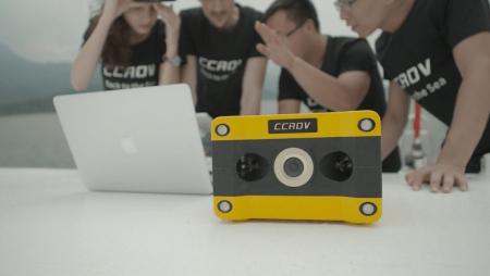 Аппарат CCROV стал первым подводным дроном с 4К-видеозаписью