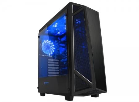 Raidmax Sigma: корпус Mid Tower с боковой панелью из закалённого стекла