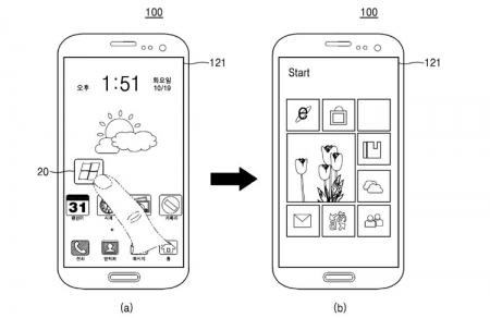 Samsung размышляет над смартфоном с двумя операционными системами