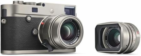 Ограниченное издание камеры Leica M-P Titanium выглядит отлично