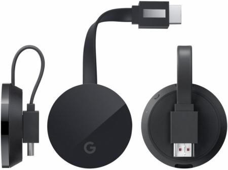 Фото ТВ-брелока нового поколения — Google Chromecast Ultra