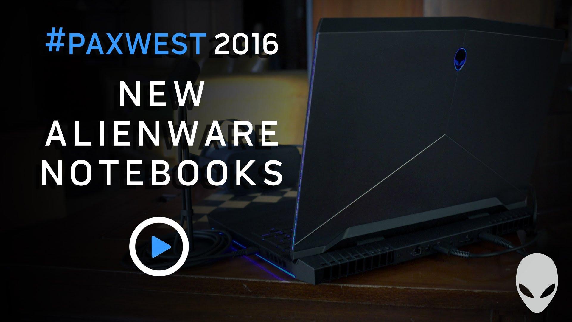 Новые игровые ноутбуки Alienware подходят для VR