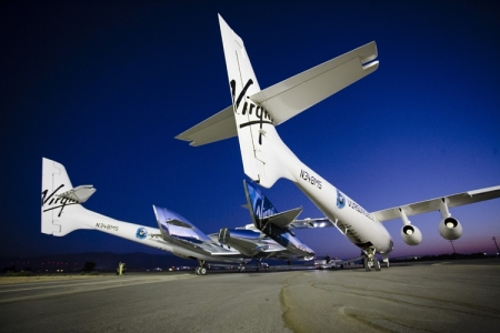 Новый корабль SpaceShipTwo совершил испытательный полёт