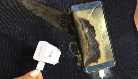 Samsung удалённо выключит взрывоопасные Galaxy Note 7