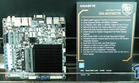 Gigabyte GA-N3160TN: четырёхъядерный Celeron (Braswell) к вашим услугам