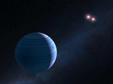 «Хаббл» помог идентифицировать планету с двумя солнцами