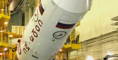 Отмена запуска пилотируемого корабля «Союз МС-02» связана с коротким замыканием