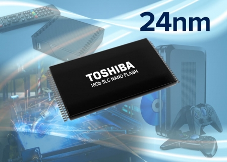 Toshiba начала выпуск 16-Гбит SLC NAND повышенной надёжности