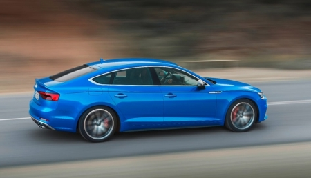 Audi A5 Sportback предложит обновлённую концепцию управления и отображения информации