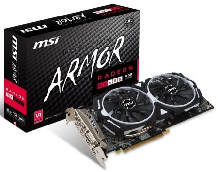 Восемь из ларца: нашествие видеокарт MSI Radeon RX 480/470 Armor
