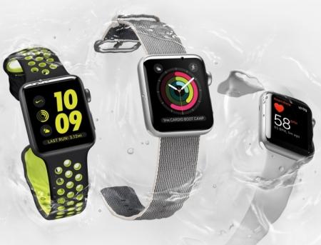 Apple познакомила мир со смарт-часами Watch Series 2