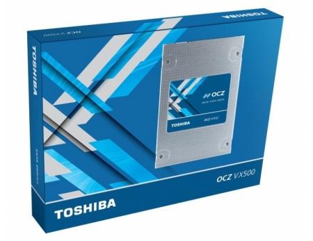 Семейство SSD-накопителей OCZ VX500 включает модели ёмкостью до 1 Тбайт