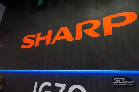 IFA 2016: Дисплеи «свободной формы» в экспозиции Sharp