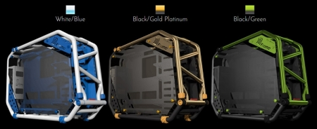 In Win представила корпус D-Frame 2.0 в трёх вариантах расцветки