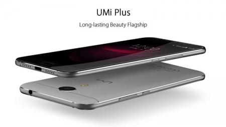 Смартфон UMi Plus: чип Helio P10, 4 Гбайт ОЗУ и экран Full HD