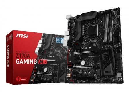 MSI представила плату Z170A Gaming M6 для игровых компьютеров