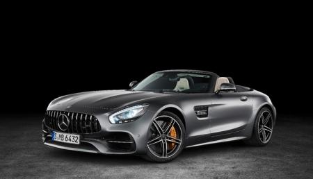 Родстер Mercedes-AMG GT C ускоряется до «сотни» за 3,7 секунды