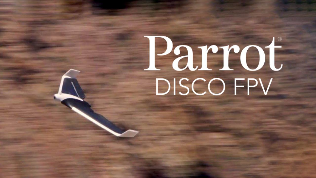 IFA 2016: новые необычные дроны Parrot Disco, Swing и Mambo