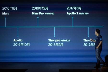 Vernee Apollo 2 станет одним из первых смартфонов на платформе Helio X30