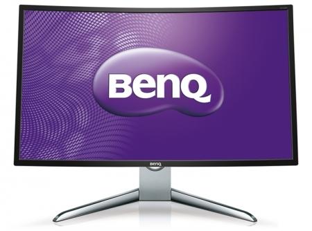 Изогнутый монитор BenQ EX3200R имеет диагональ 31,5 дюйма