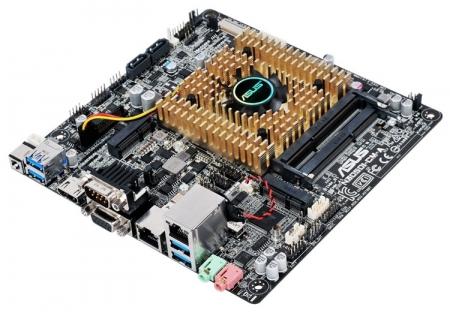 Плата ASUS N3050I-CM-A поддерживает внешние адаптеры питания