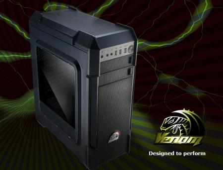 ПК-корпус Akasa Venom LX представлен в версиях с окном и без