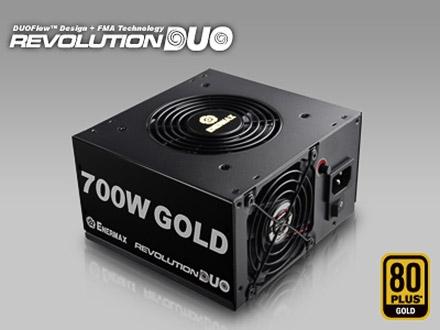 Enermax Revolution Duo: блоки питания с ручным управлением скоростью вентиляторов