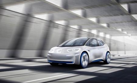 Volkswagen I.D.: электрический концепт-кар с запасом хода до 600 км