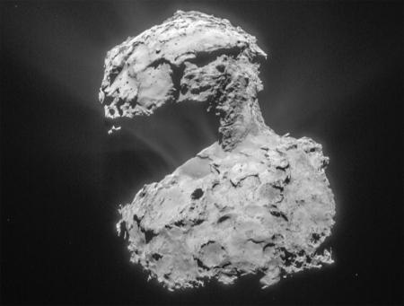 Прощание с кометой Чурюмова-Герасименко: последние часы жизни станции Rosetta