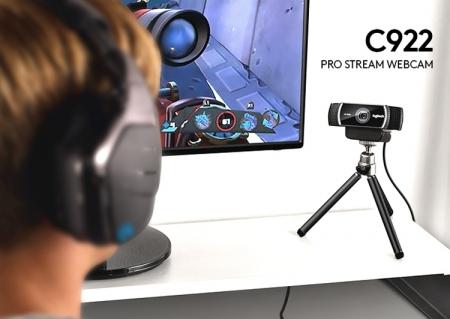 Logitech C922 Pro Stream: камера для потоковой трансляции видео в формате 1080p