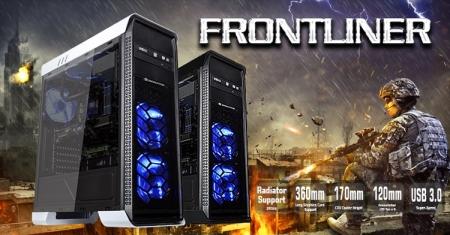 Xigmatek выпустила просторный корпус Frontliner