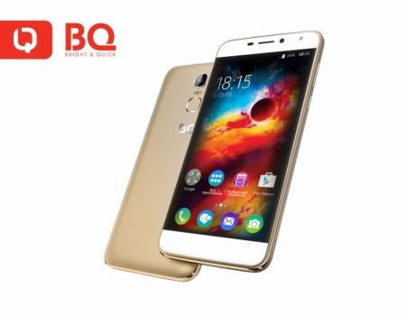"""5,5"""" смартфон BQS-5520 Mercury со сканером отпечатков пальцев поступил в продажу"""