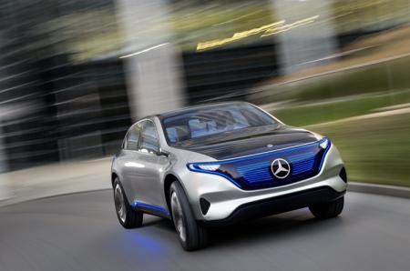 Mercedes-Benz Generation EQ: электрический кроссовер будущего