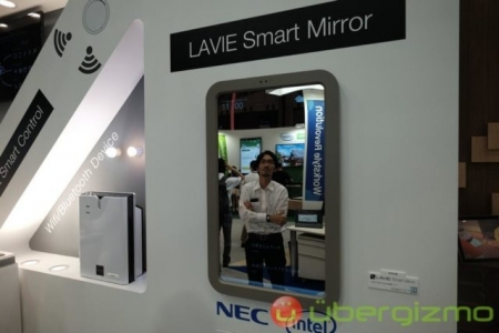 Lenovo LaVie Smart Mirror — умное зеркало с погодой и сводкой новостей