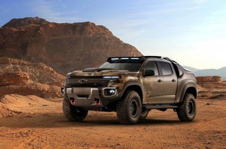Chevrolet Colorado ZH2: внедорожник на топливных элементах