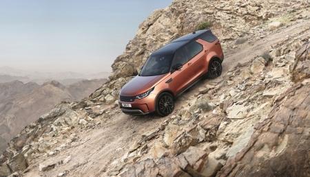 Land Rover Discovery нового поколения: передовые электронные системы и отменная проходимость