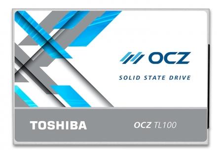 Твердотельные накопители Toshiba OCZ TL100 относятся к начальному уровню