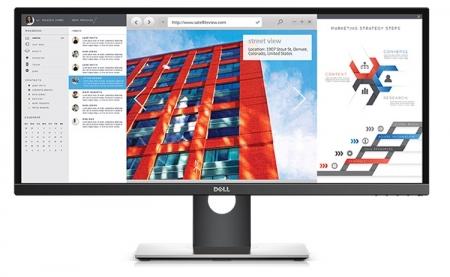 Монитор Dell UltraSharp U2917W обладает разрешением 2560×1080 пикселей