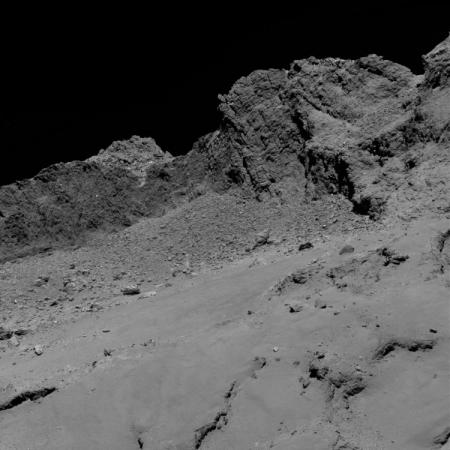 Фото дня: прощальный взгляд станции Rosetta на комету Чурюмова-Герасименко