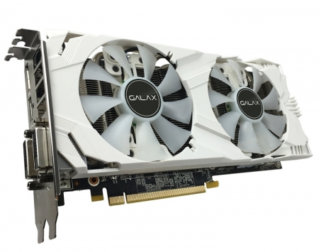 Ускоритель Galax GeForce GTX 1060 6GB EXOC White Edition получил разгон