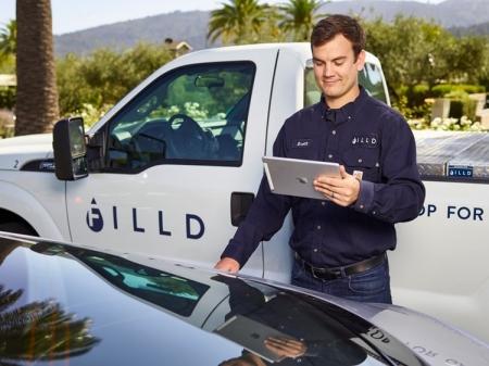 Filld for Bentley: дистанционная заправка автомобиля через приложение для смартфона