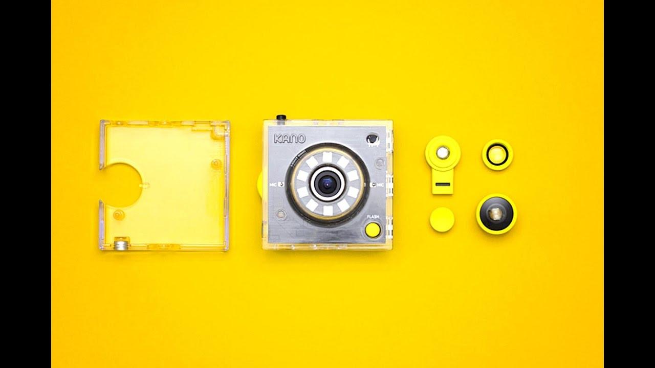 Kano Camera Kit: собери и запрограммируй камеру сам