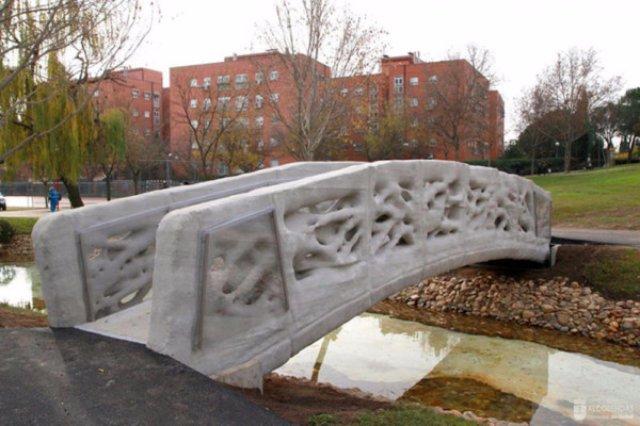 Первый в мире мост, напечатанный на 3D принтере