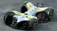 Компания Roborace представила первые образцы своих гоночных автомобилей-роботов