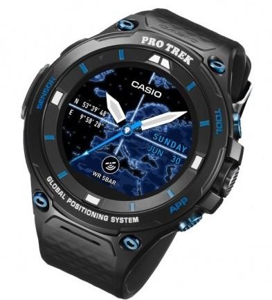 Умные часы Casio Pro Trek WSD-F20S поместили в усиленный корпус