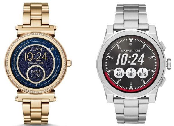 Анонсированы умные часы Access Sofie и Access Grayson от Michael Kors